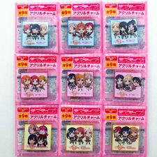 Love Live! Series Acrylic Key Chain Ver. ALL STARS 1st Anniversary / Nijigaski..