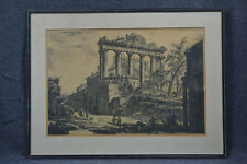 Piranesi, 1720-88, Veduti die Roma, Tempio Concordia, Druck Ende 19. Jhdrt.