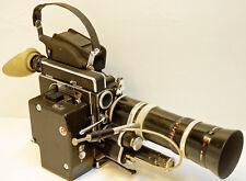 CAMERA PAILLARD BOLEX- H16 REFLEX-Type REX4-16 mm-1966+MOTEUR EM / MST-N°224067