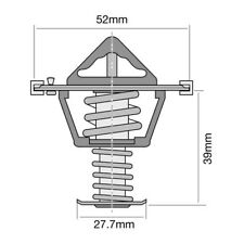 THERMOSTAT FOR FORD COURIER 2.5 TD 4X4 PG (2002-2004)