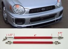 "Red 4"" Adjustable Rod Support for Ford Bumper Lip Diffuser Spoiler splitter"