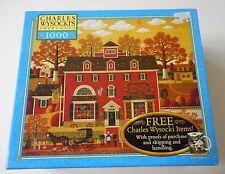 Charles Wysocki Americana Puzzle BENJAMINS MUSICAL TOOLS 1000 PC 2004 SEALED NIB