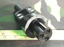 Bulgin 3-Pin Line Socket Power Connector (Mains Cable Inlet Plug)