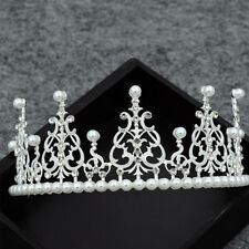 1pc Bride Crown Alloy Rhinestone Exquisite Headdress Head Band Tiara for Wedding