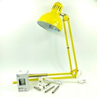 IKEA Tertial Work Lamp with Led Bulb Color Yellow