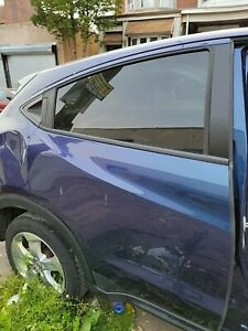 16-19 Honda HR-V Rear Right Side Door With Privacy Tint Glass