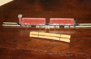 Liliput HOe log wagons L240105.