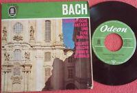 """Bach / Walcha / Ammer / Chromatische Fantasie und Fuge D-Moll 7"""" Single Vinyl"""