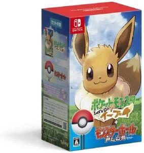 Pokemon Let's Go! Eevee Monster Ball Plus Set-Switch
