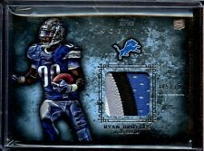 2012 TOPPS INCEPTION FOOTBALL RYAN BROYLES 4 COLOR PATCH 45/75
