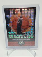 Paul George 2019-20 Mosaic Jam Masters Silver Prizm Insert Card #15 Clippers