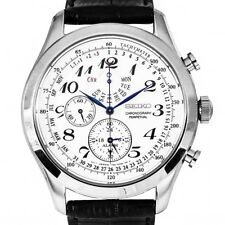 Seiko Perpetual Mens Alarm Chronograph Watch - Brand New With 2 Years Warranty