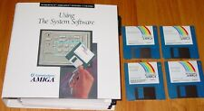 Using The System Software 2.04 Commodore Amiga Manual & Software