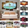 4Pcs/lot Modern Landscape Canvas Wall Art Print Oil Painting Home Decor