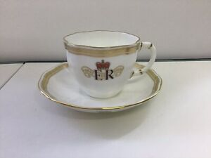 Royal Crown Derby Diamond Jubilee Cup And Saucer