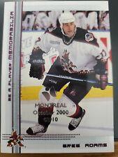 2000-01 BAP Memorabilia Montreal Olympic Stadium Show Ruby #374 Greg Adams 03/10