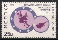 Zypern Nr.397 ** Assozierung mit EWG 1973, postfrisch