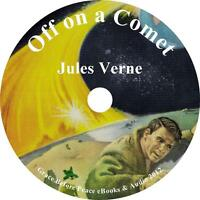 Off on a Comet, Jules Verne Sci-Fi Audiobook unabridged Fiction English 1 MP3 CD