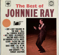 JOHNNIE RAY ~ BEST OF... ~ 1966 UK 12-TRACK MONO LP RECORD ~ CBS REALM RM 52317