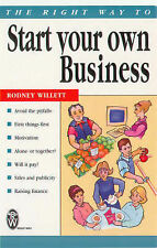 Very Good, The Right Way to Start Your Own Business, Willett, Rodney, Book