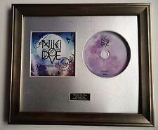 SIGNED/AUTOGRAPHED NIKI AND THE DOVE - INSTINCT CD FRAMED PRESENTATION. & RARE