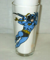 Batman Pepsi Glass 1966 DC Comics NEVER USED!
