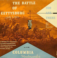 BATTLE OF GETTYSBURG - Original 1948 CBS Radio Broadcast on CD