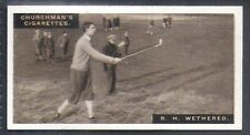 CHURCHMAN-FAMOUS GOLFERS GOLF (STANDARD SIZE)-#49- ROGER WETHERED