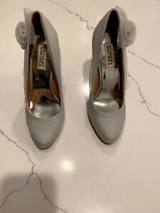 Badgley Mischka Shoes | Wedding Shoes | 8M Leather Sole
