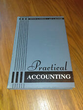 Practical Accounting by Edwin L. Theiss and Jay L. Hunter (1942, HC) 1st #ai