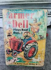 The Farmer in the Dell 1951 Musical Book Mattel USA