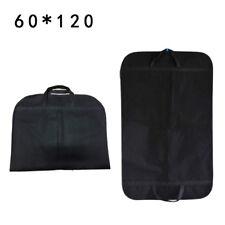 Portable Garment Bag Cover Suit Dress Storage Dust Protecor Cover Travel Black