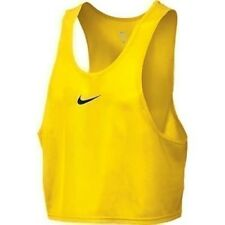 NIKE Men's Scrimmage Vest Football Soccer Tank One Size Blue/Green/Yellow 459657