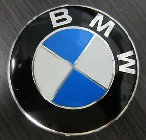 "BMW Center Cap Hubcap 22405910 A 2.75"" (67 mm) wide  36136783536 Genuine"