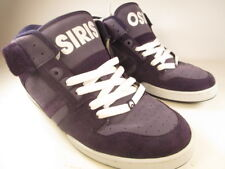 OSIRIS SHOES SOUTH BRONX PURPLE SUEDE SIZE 13 SKATE SHOES SNEAKERS