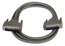 10m 25 Pin DB25 Male M/M Cable Parallel Printer RS232 PC Serial Lead Fully Wired