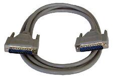 10m 25 Pin Db25 Male M/m Cable Paralelo Impresora Rs232 Pc Serial Plomo plenamente Con Cable