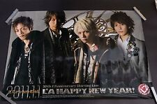00 L'A HAPPY NEW YEAR Poster 2011 L'Arc~en~Ciel L'Anni~ver~sary (23.4x33 inch)