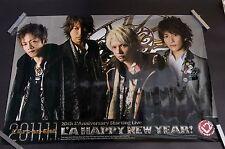 00 L'A HAPPY NEW YEAR Poster 2011 L'Arc~en~Ciel L'Anni~ver~sary (23.4x33 inch)