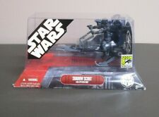 Shadow Scout with Speeder Bike STAR WARS 2007 SDCC Convention Exclusive MIB