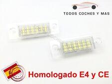 PLAFONES LED MATRICULA VW TOURAN JETTA TRANSPORTER HOMOLGADO E4 CE LUCES LUZ