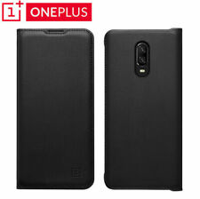 Original Flip Case PU Leather Wallet Card Cover Smart Sleep Wake For Oneplus 6T