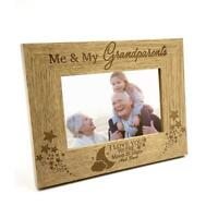 Me and My Grandparents Love You To The Moon Photo Frame Gift FW148