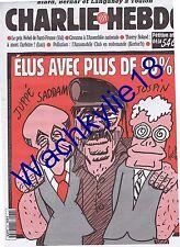 Charlie Hebdo n°174 du 18/10/1995 Saddam Hussein Gébé Toulon Cyrunlnik