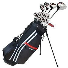 Prosimmon Golf X9 V2 Mens Graphite/Steel Golf Club Set & Bag