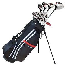 Prosimmon Golf X9 V2 Mens Graphite/Steel Golf Club Set & Bag
