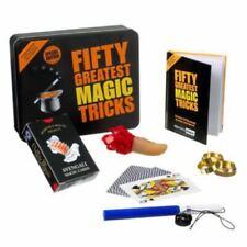 """Kit Tour de magie Carte magique """"Fifty Greatest Magic Tricks"""". Kits tours cartes"""