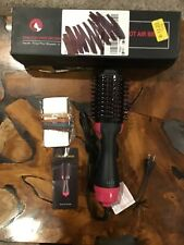 One Step Hair Dryer and Styler Hot Air Brush Straightening Styling Drying