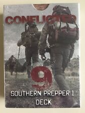 Conflicted: The Survival Card Game - DECK #9 - SOUTHERN PREPPER 1 - Free Ship!