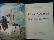 Pays Basques de France et d'Espagne  Rodney Gallop et Philippe Veyrin